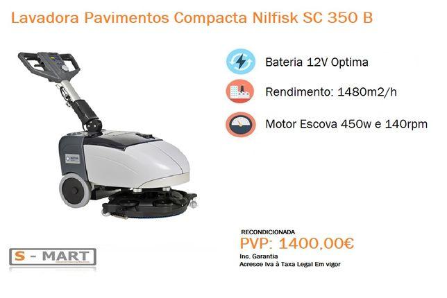 Lavadora Pavimentos Compacta Nilfisk SC 350 B