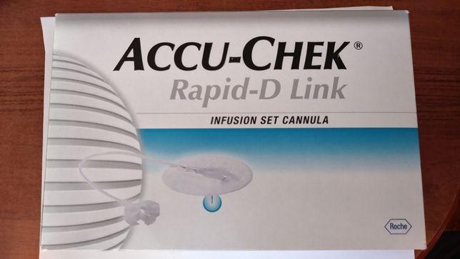 Zestawy infuzyjne (Wkłucia do pompy) ACCU-CHEK Rapid-D link