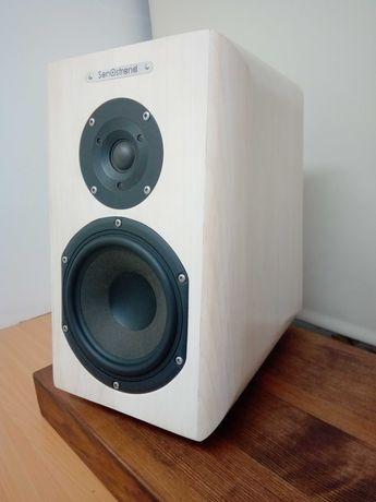 Kolumny głośnikowe vifa peerless drewno klonowe