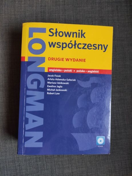 Słownik współczesny LONGMAN angielsko-polski, polsko-angielski wyd. 2