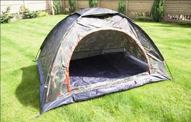 Палатка 3-х местная, туристическая, универсальная, двухслойная, Хит
