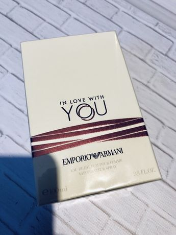 Armani in love with you Eau de Parfum 100ml армани emporio giorgio ТОП