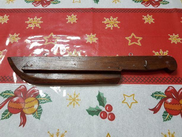 Suporte de facas em madeira