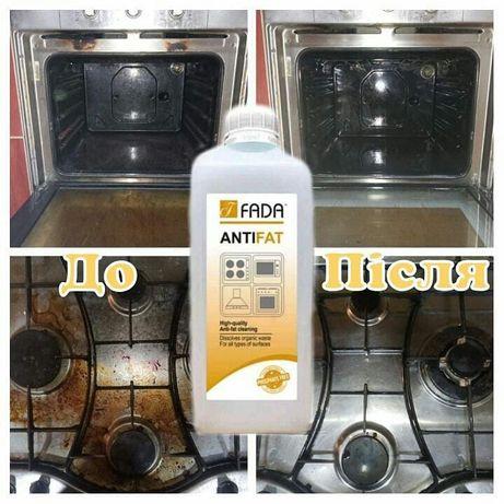 Засіб очищуючий для видалення пригорілого та застарілого жиру, 1 л