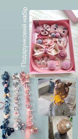 Подарок девочке ребенку на крестины день рождения, подарунок резиночки