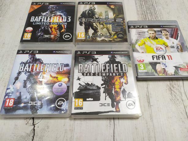 Gry PlayStation 3 Batllefield 3 4 Bad Company, Crysis 2 FIFA 11