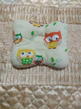 Ортопедическая подушка для новорождённых