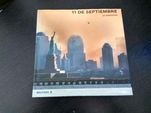 Livro fotografia sobre 11 de Setembro