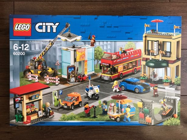 LEGO City 60200 Stolica - NOWE