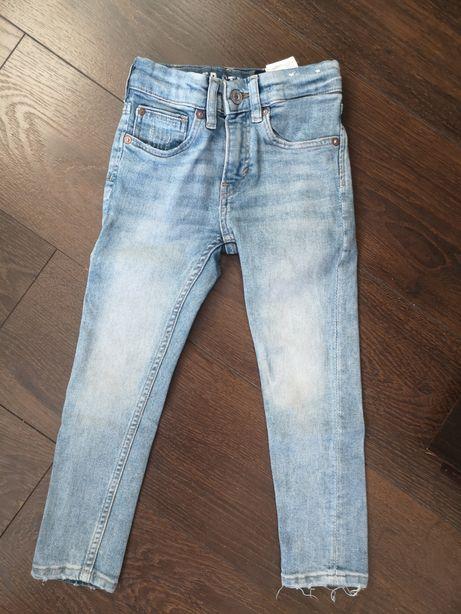 H&M Spodnie jeansy joggery 110cm