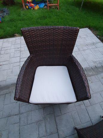 Fotele ogrodowe, ratanowe Amanda firmy OLTRE