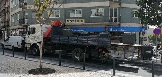 Serviço de camião grua