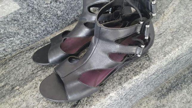 Buty damskie sandały skóra rozmiar 40