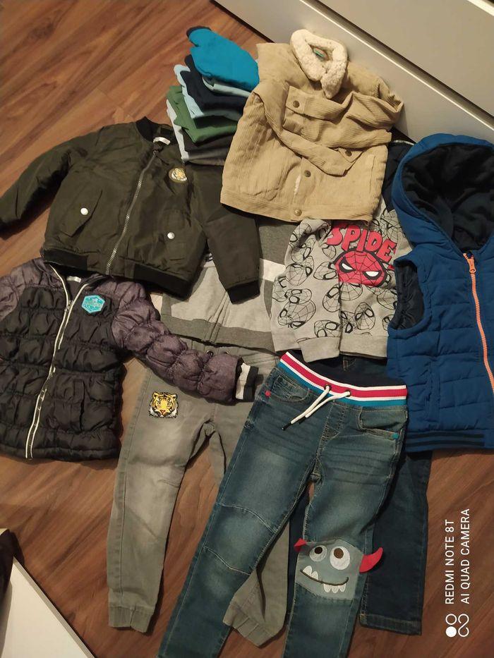 Duży zestaw ubrań 98-104 Jędrzejów - image 1