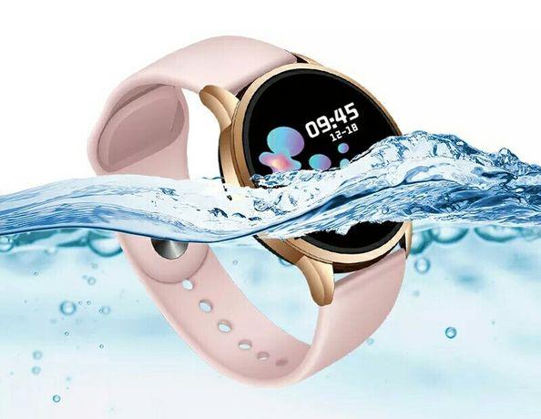 Nowy inteligentny zegarek mężczyźni kobiety pulsometr SmartWatch