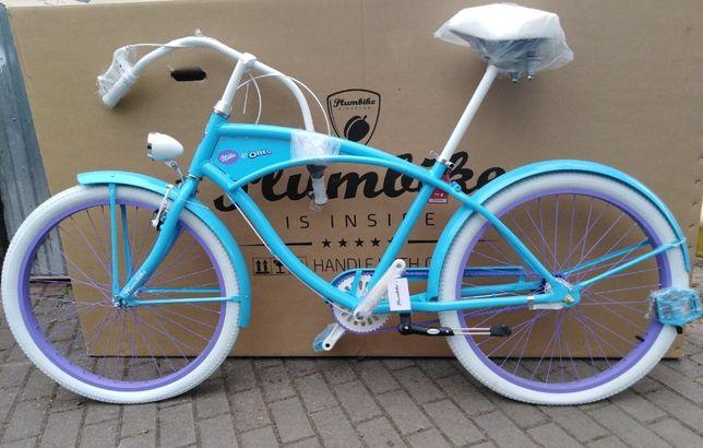 PLUMBIKE Cruiser NOWY! Niebieski Oreo Milka