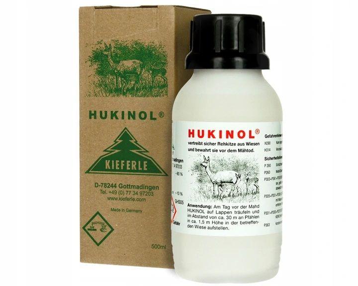 Hukinol 500 ml Zapachowy odstraszacz dzikiej zwierzyny na dziki sarny Leżajsk - image 1
