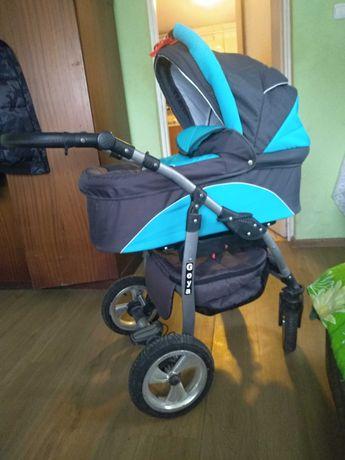 Wózek Dziecięcy 3w1 Goya+gratisy