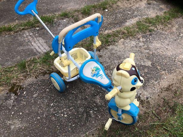 Rowerek piesek dla najmłodszych
