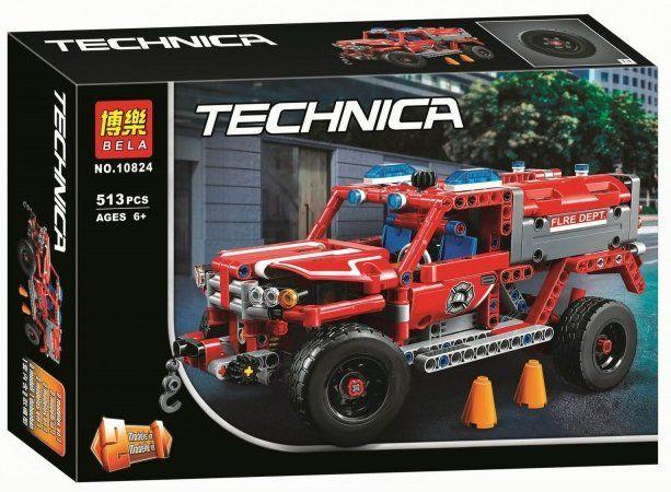 Конструктор Bela 10824 Служба быстрого реагирования lego лего Technic