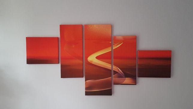 Obraz kaskadowy 5 elementowy
