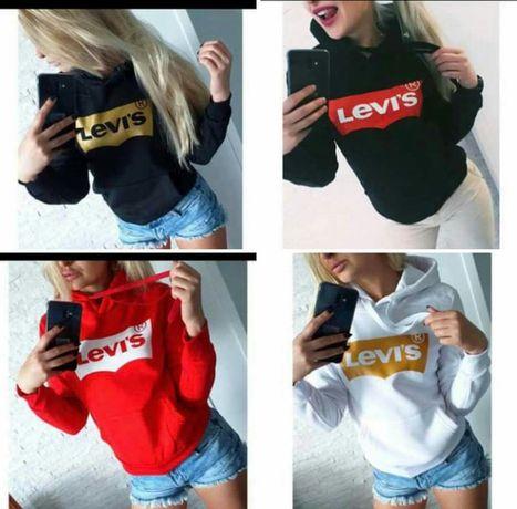 Bluzy damskie z logo Levis kolory i rozne loga S-XL!!!