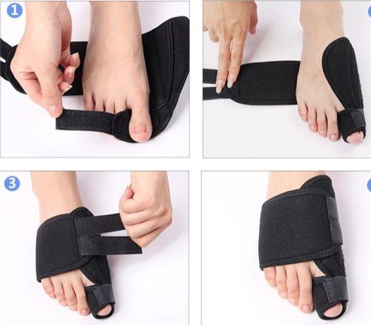Вальгусный бандаж для пальцев ног, коррекция костяшки большого пальца