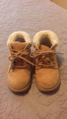 Ботиночки тёплые на мальчика