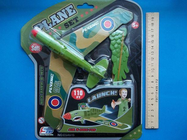 Самолет истребитель Супермарин Спитфайр Spitfire модель для запуска
