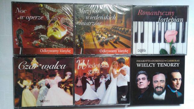 Zestaw płyt CD - muzyka klasyczna