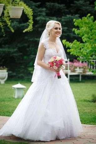 Дизайнерское свадебное платье от Татьяны Григ