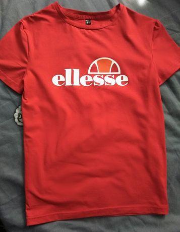 Женская красная футболка Ellesse