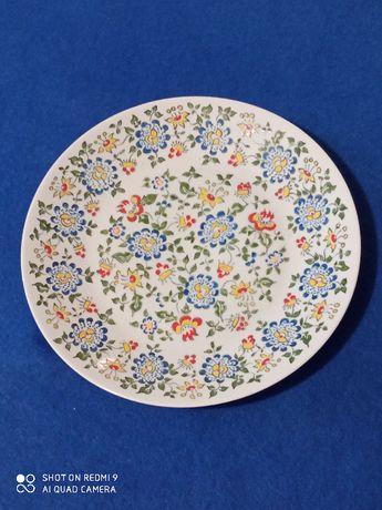 Talerz kolekcjonerski 3 porcelana opolska przed 1975 design PRL
