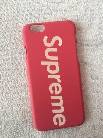 Case/obudowa supreme różowy iphone 6s