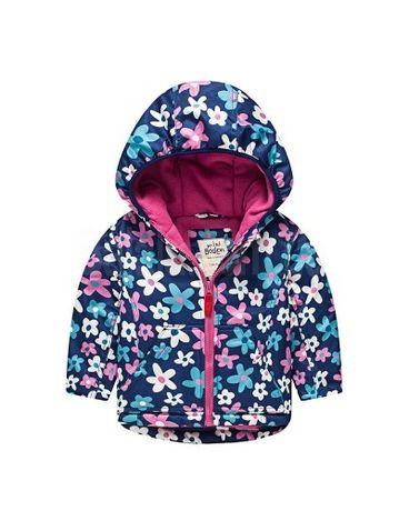 Куртка на флісі Flowers