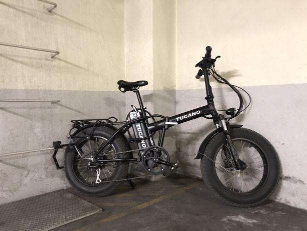 Bicicleta Fat Elétrica dobrável Tucano Monster 20 Limited Edition