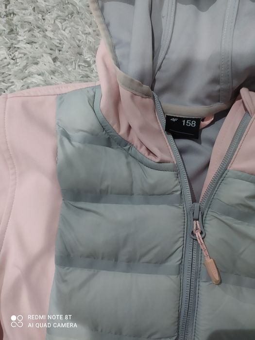Bluza F4 różowo-szara Żabce - image 1