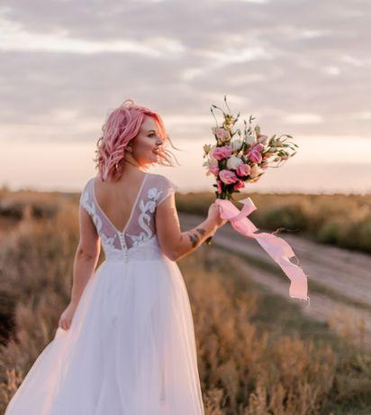 Продам свадебное платье. Одевалось на 2часа