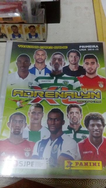 Adrenalyn 2014/15 , completa .