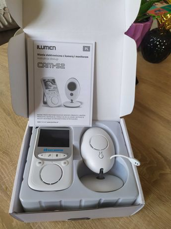 Sprzedam!!!Niania elektroniczna z kamerą i monitorem CAM-S2.