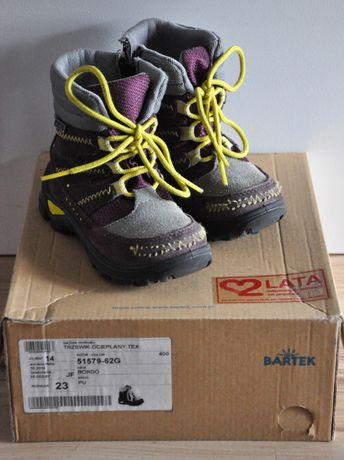 Buty zimowe śniegowce BARTEK R 23 _stan BDB