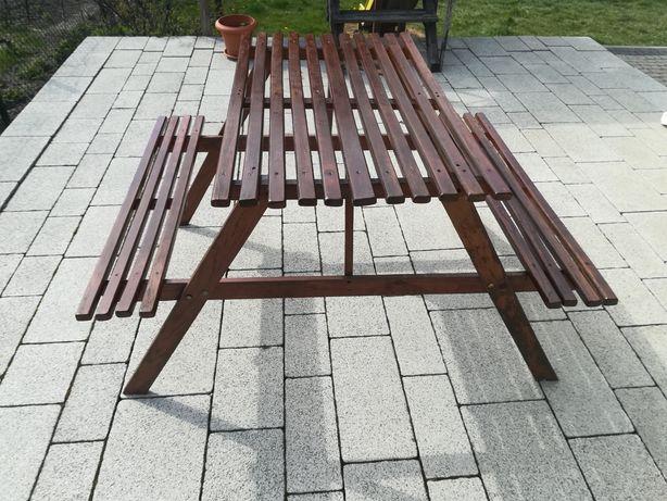 Ławka stolik piknikowy dla dzieci