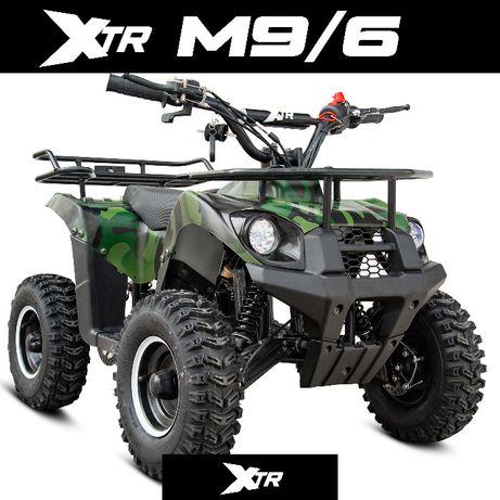 MINI QUAD XTR M9 Spalinowy 50 cc elektryczny 1000W duże koła