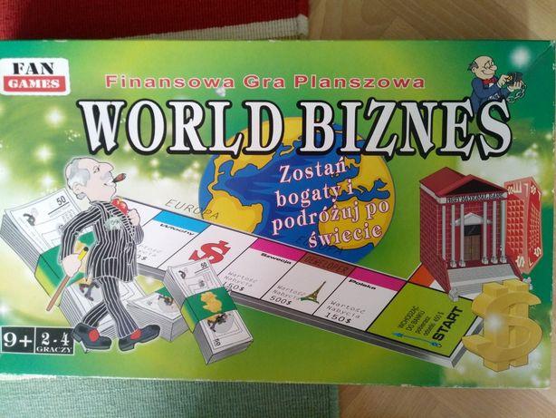 Sprzedam grę planszową WORLD BIZNES