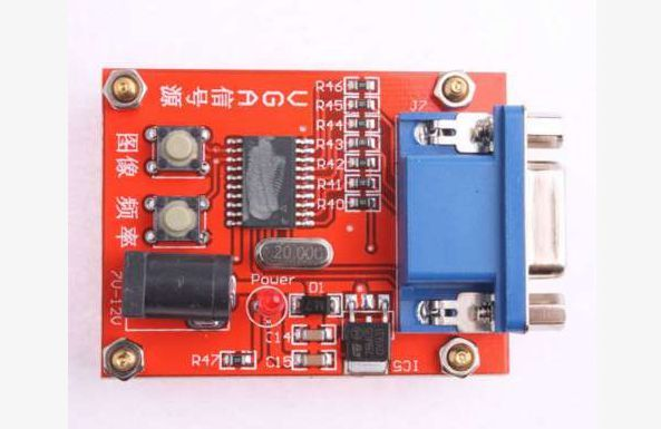 Генератор VGA сигнала тестер монитора