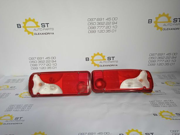 Фонарь задний Sprinter W906: левый A9068201664/правый А9068201764