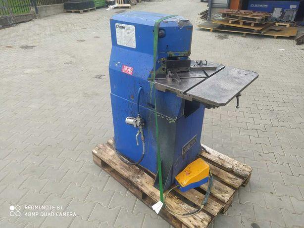 Wykrawarka wycinarka do naroży gilotyna blachy RAINER 150X3MM