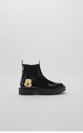 Zara Nowe buty botki wiosenne myszka Miki Disney 34