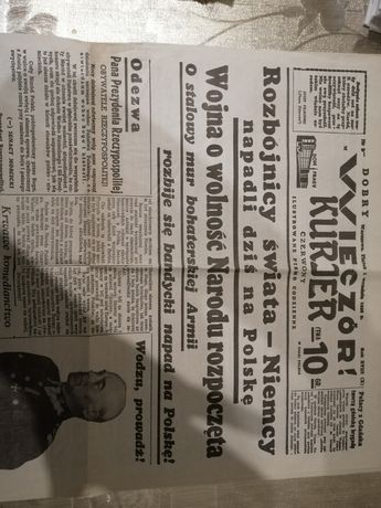 Stare gazety z okresu wojny