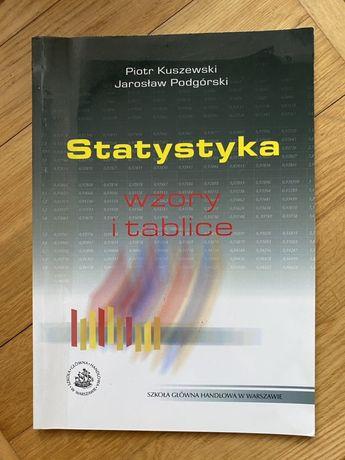 Statystyka wzory i tablice sgh